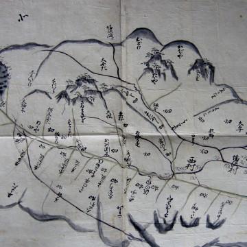 塩沢村絵図